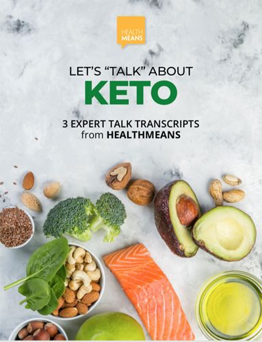 "Let's ""Talk"" About KETO eBook"